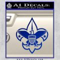 Boy Scouts Logo Decal Sticker Blue Vinyl 120x120