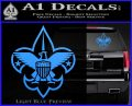 Boy Scouts Logo Decal Sticker Light Blue Vinyl 120x97