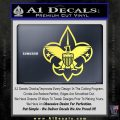 Boy Scouts Logo Decal Sticker Yelllow Vinyl 120x120