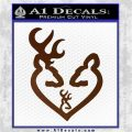 Browning Heart Doe Deer Baby Brown Vinyl 120x120