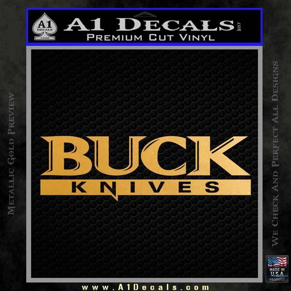 Buck Knives Decal Sticker St A1 Decals