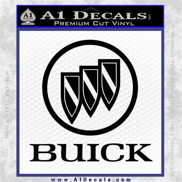 Buick Motors Stacked Decal Sticker A1 Decals