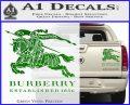 Burberry Logo Decal Sticker Green Vinyl 120x97