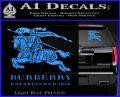 Burberry Logo Decal Sticker Light Blue Vinyl 120x97