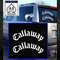 CALLAWAY GOLF FT 9 CLUB DRIVER TOUR IX VINYL DECAL STICKER White Emblem 120x120