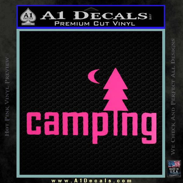 Camping Decal Sticker Txt 187 A1 Decals