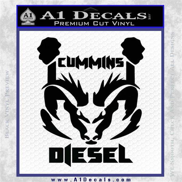 Cummins Diesel Decal Sticker Rt4 187 A1 Decals