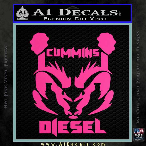 Dodge 2016 Truck >> Cummins Diesel Decal Sticker RT4 » A1 Decals