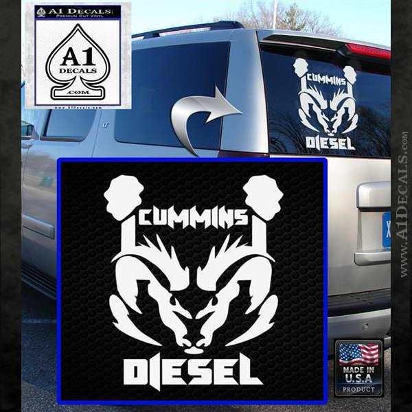 Cummins Diesel Decal Sticker Rt4  U00bb A1 Decals