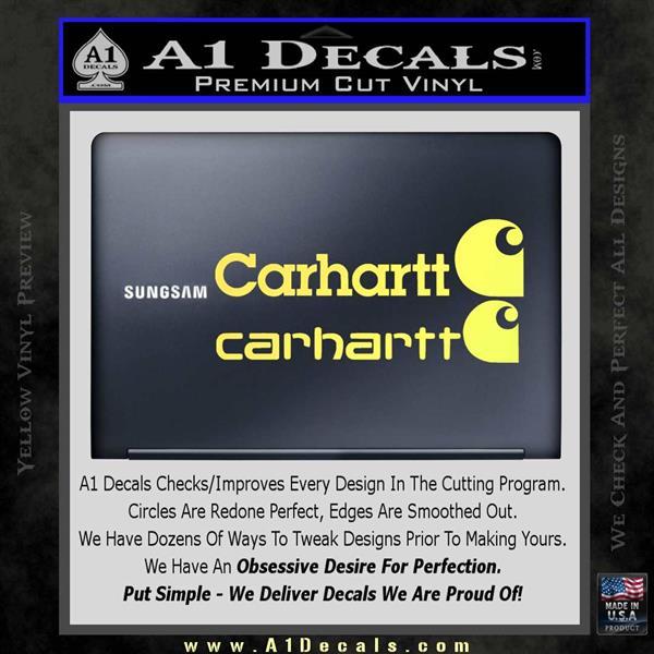 Carhartt Decal Sticker 2pk A1 Decals