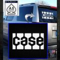 Case Logo Decal Sticker White Emblem 120x120