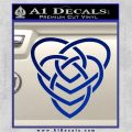 Celtic Creator Knot Decal Sticker Blue Vinyl 120x120