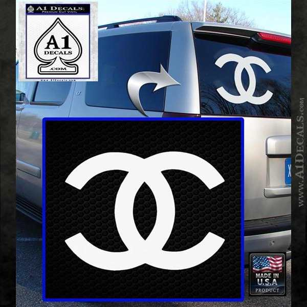 Chanel Decal Sticker Cc 187 A1 Decals