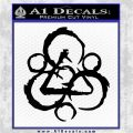 Coheed and Cambria Symbol TR Decal Sticker Black Logo Emblem 120x120