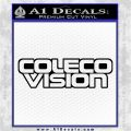 ColecoVision Decal Sticker Black Logo Emblem 120x120