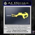 Crossbow Decal Sticker Archery Yelllow Vinyl 120x120