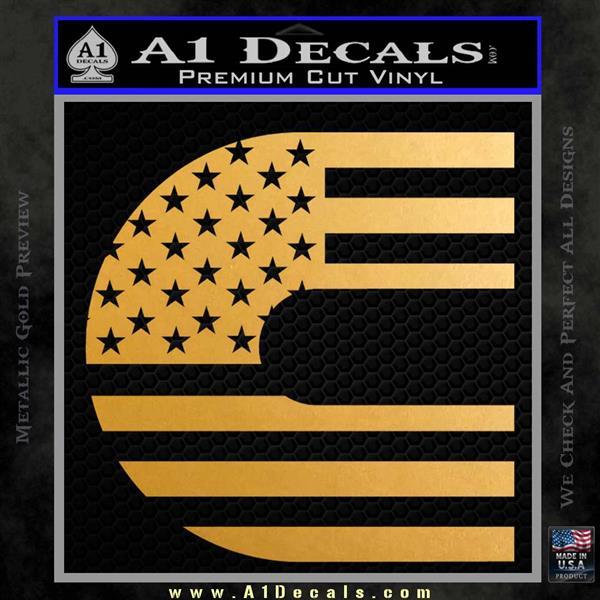 Cummins American Flag Decal Sticker 187 A1 Decals