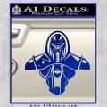 Cylon Armor Decal Sticker Battlestar Galactice BSG Blue Vinyl 120x120