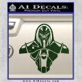 Cylon Armor Decal Sticker Battlestar Galactice BSG Dark Green Vinyl 120x120