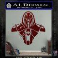 Cylon Armor Decal Sticker Battlestar Galactice BSG Dark Red Vinyl 120x120