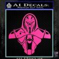 Cylon Armor Decal Sticker Battlestar Galactice BSG Hot Pink Vinyl 120x120