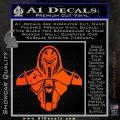 Cylon Armor Decal Sticker Battlestar Galactice BSG Orange Vinyl Emblem 120x120