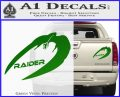 Cylon Raider Decal Sticker Battlestar BSG D4 Green Vinyl 120x97