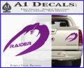 Cylon Raider Decal Sticker Battlestar BSG D4 Purple Vinyl 120x97