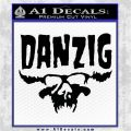 Danzig Decal D3 Sticker Black Logo Emblem 120x120