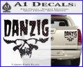 Danzig Decal D3 Sticker Carbon Fiber Black 120x97