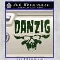 Danzig Decal D3 Sticker Dark Green Vinyl 120x120
