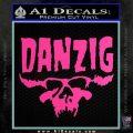 Danzig Decal D3 Sticker Hot Pink Vinyl 120x120