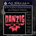 Danzig Decal D3 Sticker Pink Vinyl Emblem 120x120