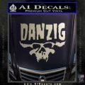 Danzig Decal D3 Sticker Silver Vinyl 120x120