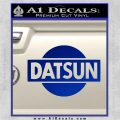 Datsun Decal Sticker CR1 Blue Vinyl 120x120