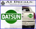 Datsun Decal Sticker CR1 Green Vinyl 120x97