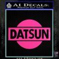 Datsun Decal Sticker CR1 Hot Pink Vinyl 120x120