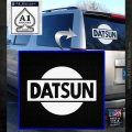 Datsun Decal Sticker CR1 White Emblem 120x120
