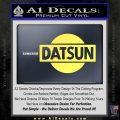 Datsun Decal Sticker CR1 Yelllow Vinyl 120x120