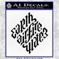 Davinci Code Earth Air Fire Water Symbol Decal Sticker Da Black Logo Emblem 120x120