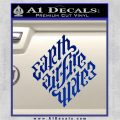 Davinci Code Earth Air Fire Water Symbol Decal Sticker Da Blue Vinyl 120x120