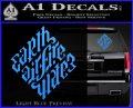 Davinci Code Earth Air Fire Water Symbol Decal Sticker Da Light Blue Vinyl 120x97