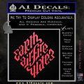 Davinci Code Earth Air Fire Water Symbol Decal Sticker Da Pink Vinyl Emblem 120x120