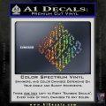 Davinci Code Earth Air Fire Water Symbol Decal Sticker Da Sparkle Glitter Vinyl 120x120