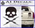 Death Proof Stuntman Mike Decal Sticker Carbon Fiber Black 120x97
