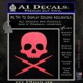 Death Proof Stuntman Mike Decal Sticker Pink Vinyl Emblem 120x120