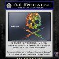Death Proof Stuntman Mike Decal Sticker Sparkle Glitter Vinyl 120x120
