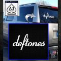 Deftones Decal Sticker Band Logo White Emblem 120x120