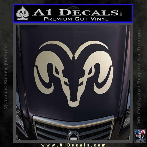Dodge Ram Sleek Logo Decal Sticker 187 A1 Decals