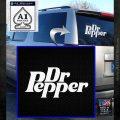Dr Pepper Logo RDZ Decal Sticker White Emblem 120x120
